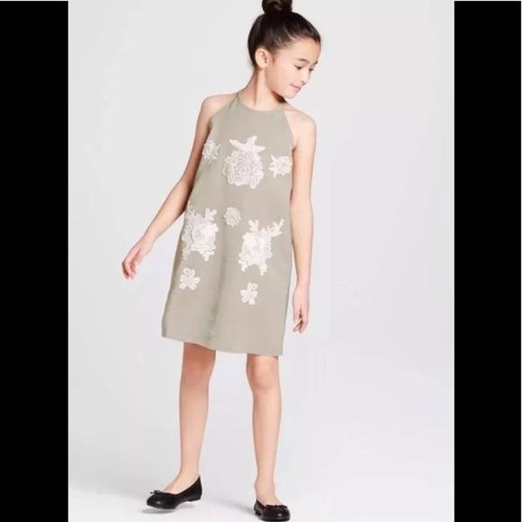03175544a74 NWT Victoria Beckham girls S Dress Sage 4-6 Target